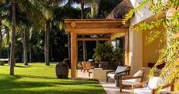 Casa Aramara: Terrazas de estilo  por BR  ARQUITECTOS