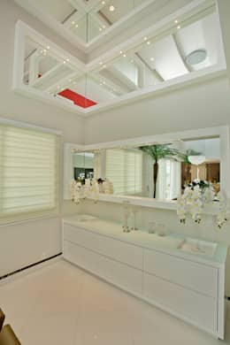 modern Dining room تنفيذ Designer de Interiores e Paisagista Iara Kílaris