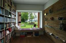 minimalistic Study/office by zauner I architektur