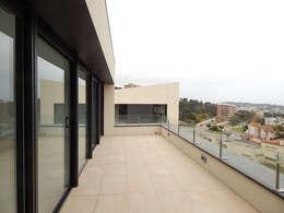 Casas de estilo moderno por Hamers Arquitectura