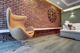 c e g ł a  w e  w n ę t r z u: styl , w kategorii Ściany i podłogi zaprojektowany przez DK architektura wnętrz