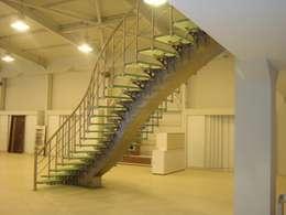 moderne Gang, hal & trappenhuis door Visal Merdiven