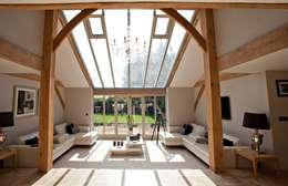 landelijke Woonkamer door Clayland Architects