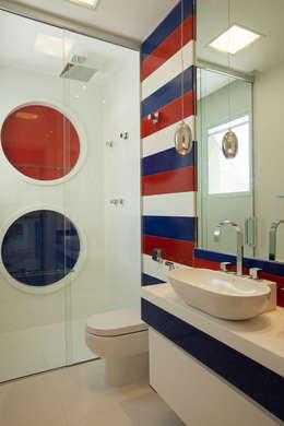 Designer de Interiores e Paisagista Iara Kílaris: modern tarz Banyo