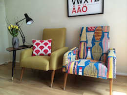 eclectic Living room by Eclectic Chair Upholstery