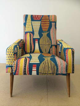 ausgefallene Wohnzimmer von Eclectic Chair Upholstery