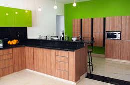 Cocina de estilo  por Amarillo Interiorismo