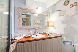 Baños de estilo rústico por Home Deco Decoración