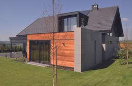 Studio S Biuro architektoniczne Michał Szymanowski: modern tarz Evler