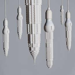 Stalaclights: moderne Woonkamer door Studio David Graas