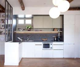 PARIS 11°: Cuisine de style de style Minimaliste par RBB architectes