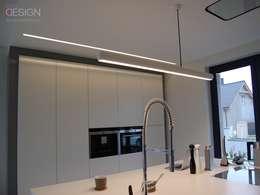 modern Kitchen by kabeDesign kasia białobłocka