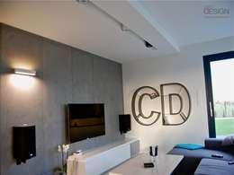 modern Living room by kabeDesign kasia białobłocka