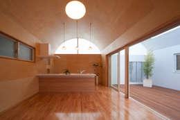 長閑の家: プラソ建築設計事務所が手掛けたダイニングです。