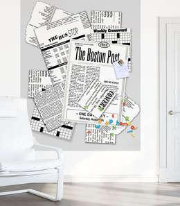 Socio-Economik: Murs & Sols de style de style Moderne par Home panoramik
