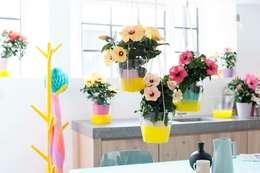 tropical Dining room by Pflanzenfreude.de