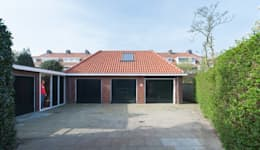 Projekty, nowoczesne Domy zaprojektowane przez UMBAarchitecten