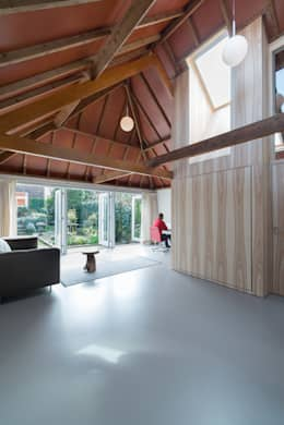 Projekty,  Salon zaprojektowane przez UMBAarchitecten