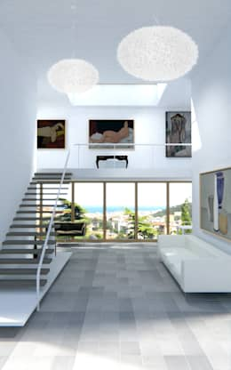 modern Living room by Ivo Buda Architetto