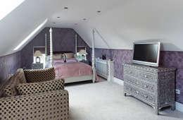 غرفة نوم تنفيذ K-Tribe Studió