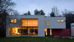Projekty, nowoczesne Domy zaprojektowane przez wirges-klein architekten