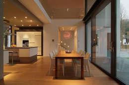 Projekty,  Jadalnia zaprojektowane przez wirges-klein architekten