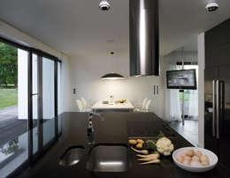 Łęka - Park: styl , w kategorii Kuchnia zaprojektowany przez Architekci Łosiak_Siwiak