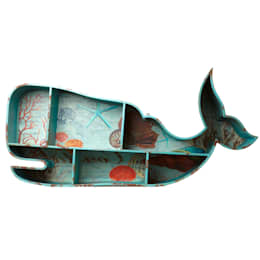 Whale Shelves: eclectic Bathroom by Hunter Gatherer