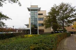 Signing gevel:  Kantoorgebouwen door ontwerpplek, interieurarchitectuur