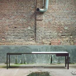 B-TWO  BY BRUNO VERMEERSCH: moderne Eetkamer door colect