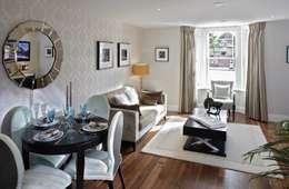 classic Living room by K-Tribe Studió