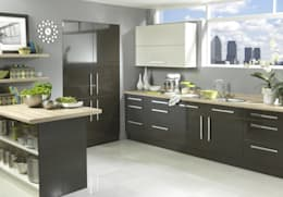 minimalistic Kitchen by Dream Doors Ltd