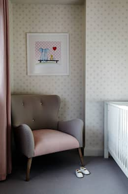 modern Nursery/kid's room by Studio Duggan