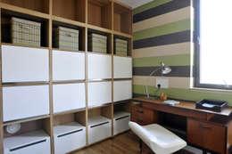 minimalistic Study/office by K-Tribe Studió
