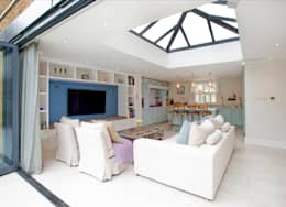 modern Living room by Build Team