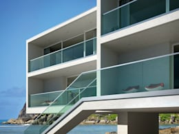Balconies, verandas & terraces  by IAM Design