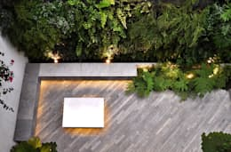 Jardines de estilo moderno por DF ARQUITECTOS