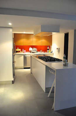 SC-152: Cocinas de estilo moderno por DF ARQUITECTOS