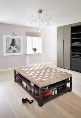 modern Dressing room by homify