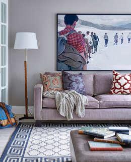 Salas de estar modernas por Sigmar