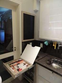 Projekty,  Kuchnia zaprojektowane przez Dariano Arquitetura