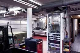 Garage / Hangar de style de style Moderne par Gira, Giersiepen GmbH & Co. KG
