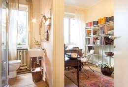 Estudios y biblioteca de estilo  por Filippo Fassio Architetto