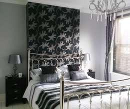Dormitorios de estilo ecléctico por Kerry Holden Interiors