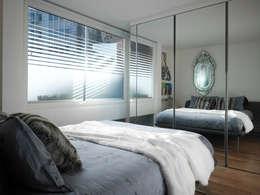 غرفة نوم تنفيذ Mackay + Partners