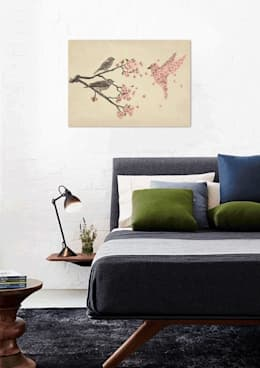 modern Bedroom by JUNIQE