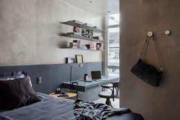 Cuartos de estilo industrial por Studio ro+ca