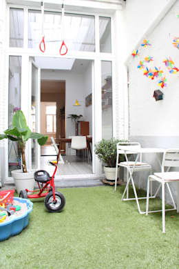 patiotuin: moderne Tuin door studio k