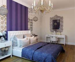 Студия дизайна интерьера Маши Марченкоが手掛けた寝室