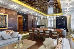modern Dining room by Bellissimo Door